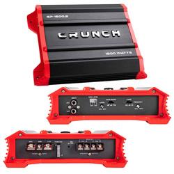 Crunch Ground Pounder 2 X 325 @ 4 Ohms 2 X 750 @ 2 Ohms 1 X 1500 Watts @ 4 Ohms Bridged