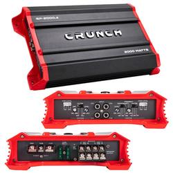Crunch Ground Pounder 4 x 250 @ 4 Ohms 4 x 500 @ 2 Ohms 2 x 1000 Watts @ 4 Ohms Bridged