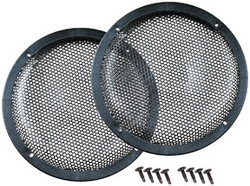 """Qpower 10"""" Black Woofer Grills Sold in pairs"""