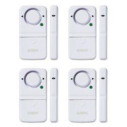 SABRE Wireless Home Security Door Window Burglar Alarm w 120 dB Siren