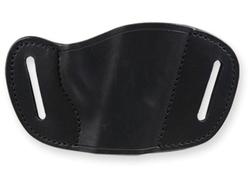 Bulldog Small  right hand black molded leather belt slide holster small mini autos