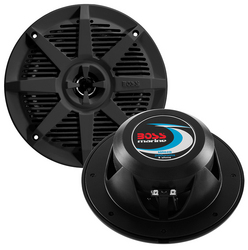 "Boss 6.5"" 2-Way Coaxial Marine Speaker 200W Black"