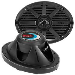 """Boss 6x9"""" 2-Way Coaxial Marine Speaker 350W Black"""