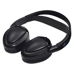Audiovox Dual channel wireless fold flat headphones auto shut off