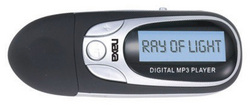 Naxa MP3 PLayer 4GB Built in Flash Memory LCD display FM Radio Black