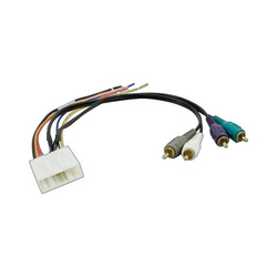 2007-2012 Nissan/Infinity OEM amplifier integration harness