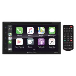 "Planet Audio D.Din 6.75"" Touchscreen Android Auto & Apple Carplay AM/FM/BT/CD/DVD"