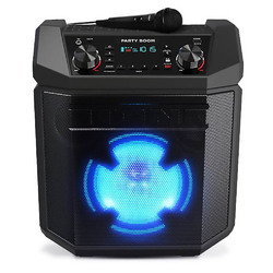 Category: Dropship Bluetooth, SKU #PARTYBOOM, Title: Ion High-Power Rechargeable Speaker With Lights