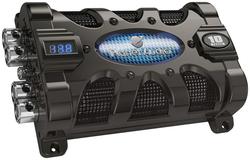 Planet 10 Farad Capacitor with Digital Voltage Display Blue Illumination