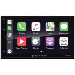 "Planet Audio Double Din 6.75"" Mechless Apple Car Play/Android Auto/AM/FM/USB/Aux/Bluetooth"