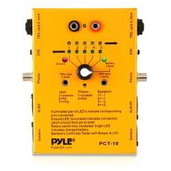 Pyle Pro 8 plug pro audio cable tester