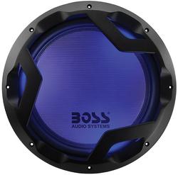 "Boss Phantom 12"" Woofer Featuring Multi-LED Illumination Dual 4 Ohm Voice Coil"