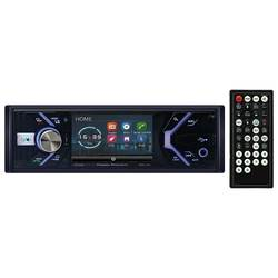 """Power Acoustik 3.4"""" Single Din Receiver with Bluetooth"""