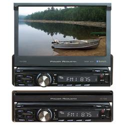 """Power Acoustik Single DIN 7"""" Flipout AM/FM/CD/DVD/BT"""