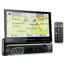 "Power Acoustik 7"" Flip out Touchscreen AM/FM/DVD/USB/BT With Navigation"