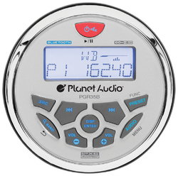 Planet Audio Marine AM/FM/Weather Mechless Receiver with Bluetooth