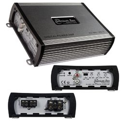 American Bass Amp D Class 1 Ohm Stable 1600 Watts Max