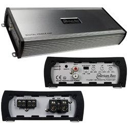 American Bass Amp D Class 1 Ohm Stable 4000 Watts Max