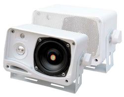Pyle Marine 2-Way Indoor/Outdoor Speakers (White)