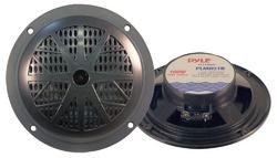 """Pyle Marine 5.25"""" Dual Cone Speakers (Black)"""