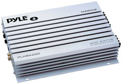 AMPLIFIER PYLE MARINE 2 CHANN.400 WATTS