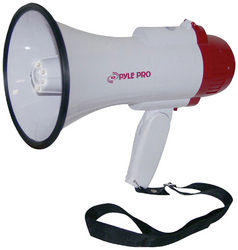 Pyle Pro Megaphone with Siren/Talk/LED light