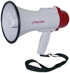 Pyle Pro Megaphone with Siren/Talk/LED light