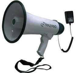 Pyle Pro Professional Dynamic Megaphone with recording detachable microphone