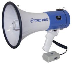 Pyle 50W Mini megaphone with Siren