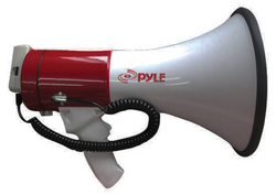Pyle Pro Megaphone with Siren TALK USB SD Card