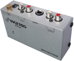 Pyle Pro Phono Preamplifier