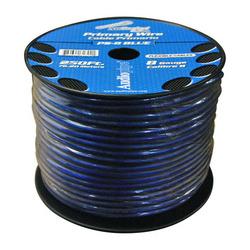 AUDIOPIPE Power Wire 8 Gauge 250 Foot - Blue