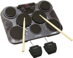 Pyle Pro Electronic Drum Set/Table Top