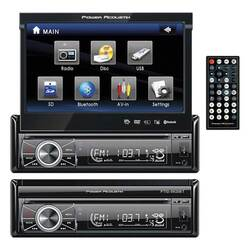 """Power Acoustik 7"""" Motorized Fip-out Monitor Bluetooth"""