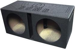 """Qpower Dual 12"""" Woofer Box """"Q Bomb"""""""