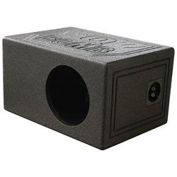 """QPower """"QBOMB"""" Single 8"""" Turbo-Ported Empty Woofer Box"""