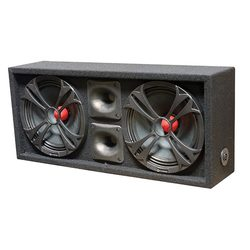 """QPower Loaded Chuchero (2) 10"""" speakers & (2) SuperZTweeters Boxed"""