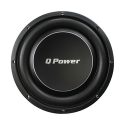 """Qpower Deluxe *QPF12* 12"""" Flat subwoofer 1200W Max"""