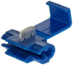QUICK SPLICE TAP 14-16 GA. 50 PCS; BLUE; XSCORPION