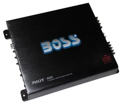 Boss Riot 2CH Amplifier 1200W Max