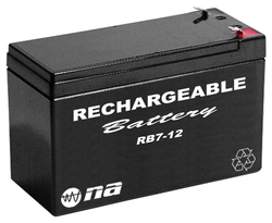 12V RECHARGEABLE BATTERY 7AH NIPPON AMERICA