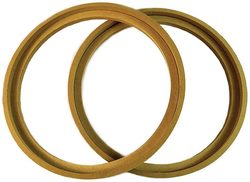 """Nippon 12"""" MDF Wood woofer ring wioth bezel sold in pairs"""