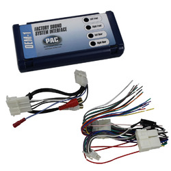 PAC SOUND SYSTEM INTERFACE CHEVY CORVETTE; REPLACE RADIO; 97-04