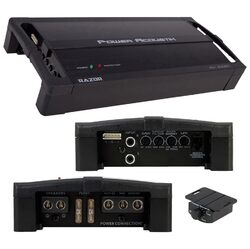Power Acoustik Class D Mono Block 2300W Max Amplifier