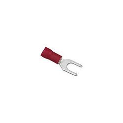 SPADE TERMINALS #6 22-18 GA. 100 PCS; RED; XSCORPION