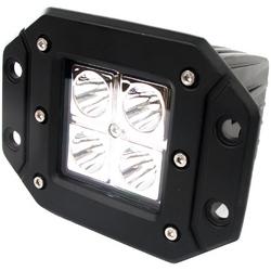 Street Vision Flush Mount 12Watt 4 LED Hi Power LED Spot Light 2x2