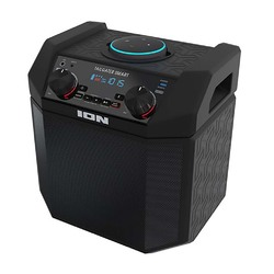 Category: Dropship Bluetooth, SKU #TAILGATSMARTAZXUS, Title: Ion Audio 50W Outdoor Echo Dot Speaker Dock/Portable Alexa Accessory With Bluetooth Connectivity