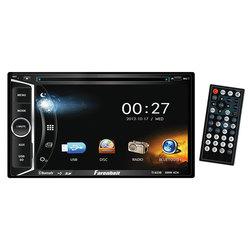 """Farenheit D.Din AM/FM 6.2"""" Touchscreen with DVD & BT"""