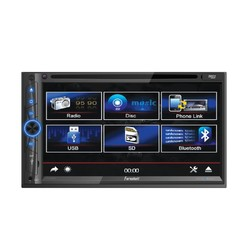 """Farenheit 7"""" LCD DDin Indash DVD Player Bluetooth Android phonelink remote"""