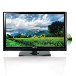 Axess 15.6 Inch LED Full HDTV Includes AC DC TV DVD Player HDMI SD USB Inputs